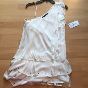 Zara NWT white Dress Medium